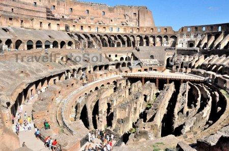 Вечный город Рим Колизей
