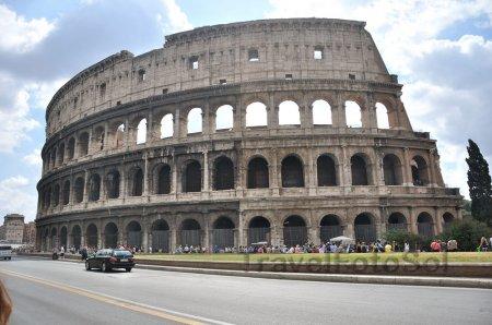 Вечный город Рим Коллизей