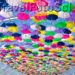 разноцветные зонтики в небе Агеда