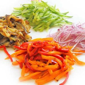 Как нарезать овощи быстро