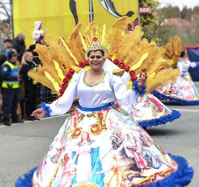 карнавал Португалия самба
